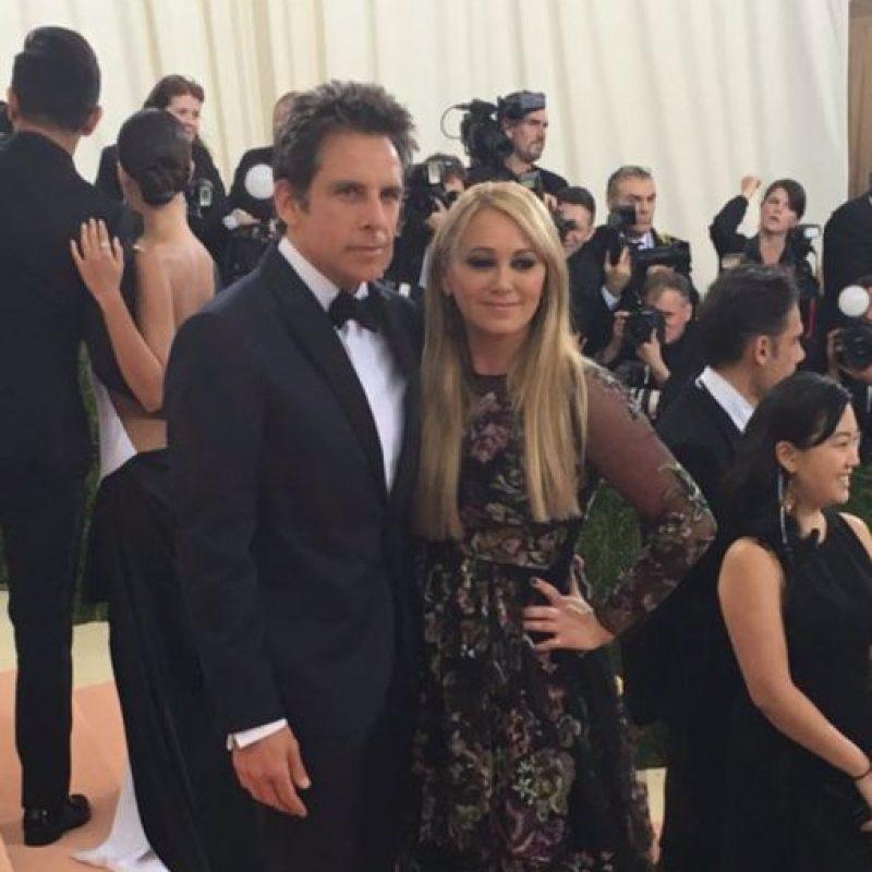 Ben Stiller y esposa. Y nada que ver con el tema. Foto:vía Getty Images