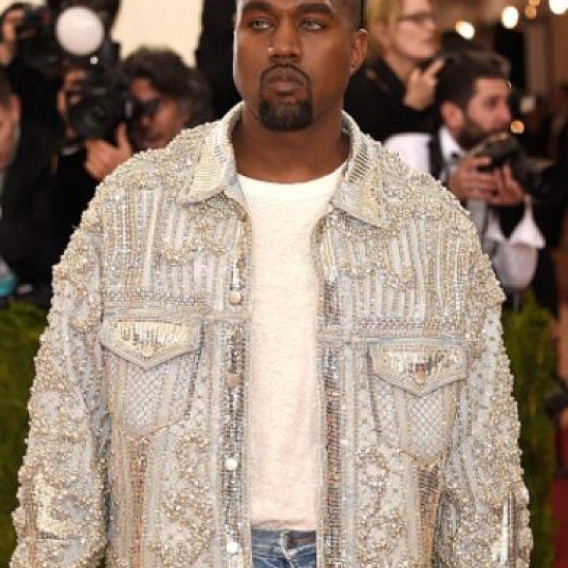 Y esta chaqueta brillante. Foto:vía Getty Images