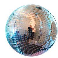 Bola de disco. Foto:vía Twitter
