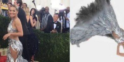 Rita Ora tampoco se salvó. Foto:vía Twitter