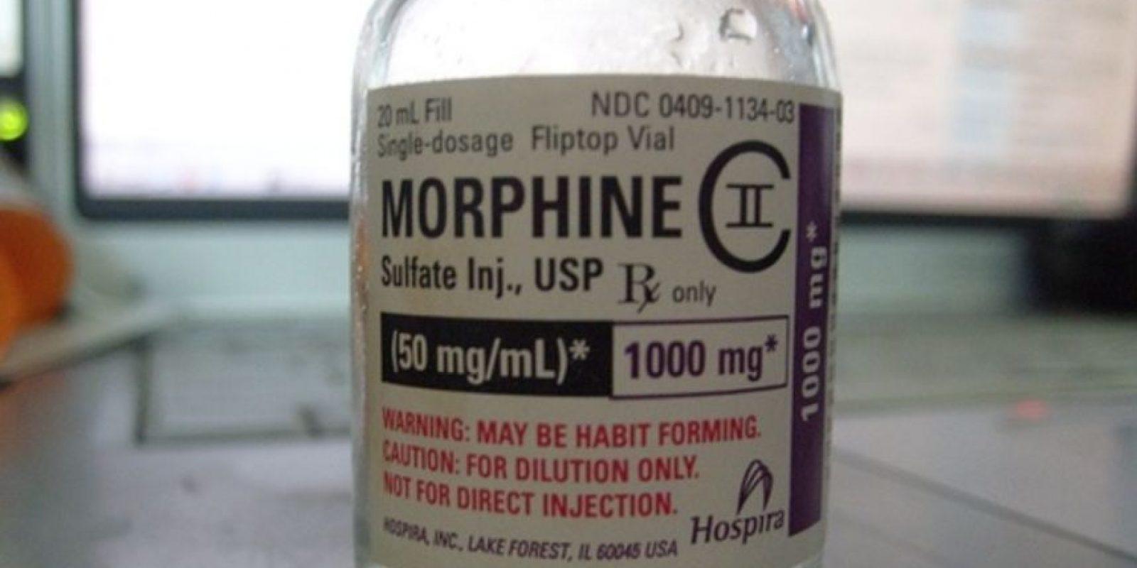 Es una sustancia controlada, opioide agonista utilizada en premedicación, anestesia, analgesia y en tratamientos contra el dolor agudo. Foto:Pixabay