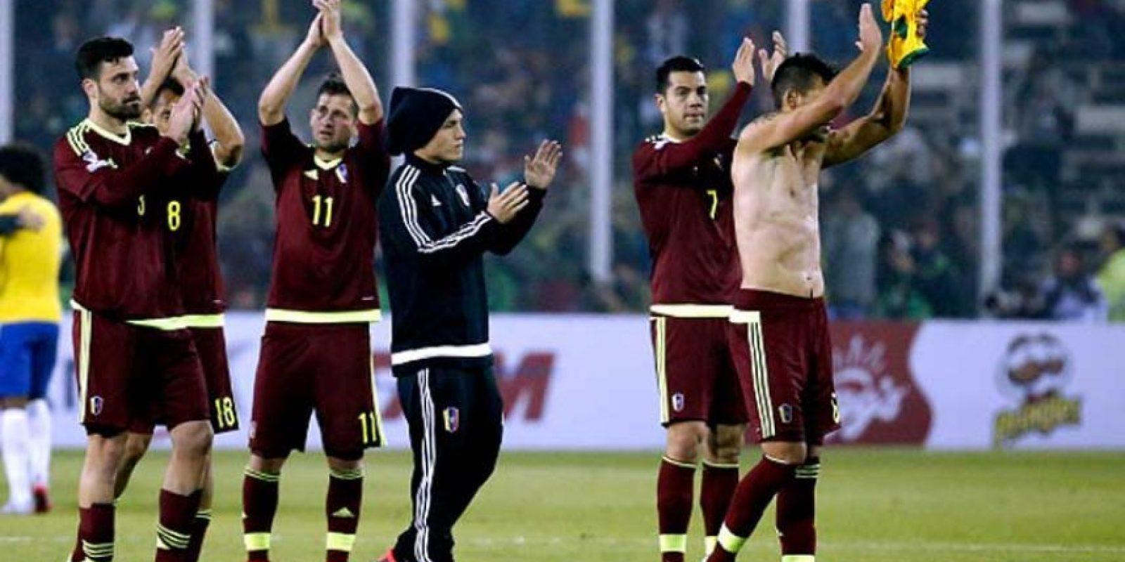16. Venezuela / Mundiales=0 / Copa América=0 Foto:Getty Images