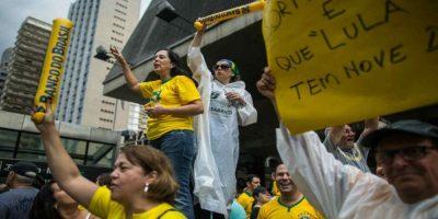 Durante este año han habido bastantes protestas en Brasil. Foto:Getty Images