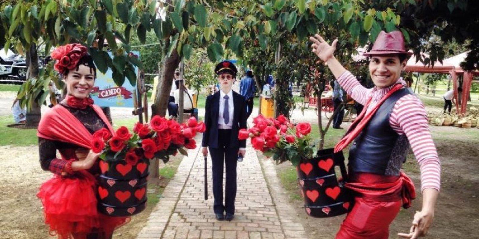 """""""El jardín de las Delicias"""", un evento para celebrar el día de la madre en el Orquideorama del Jardín Botánico. Foto:Cortesía Universo Triada."""
