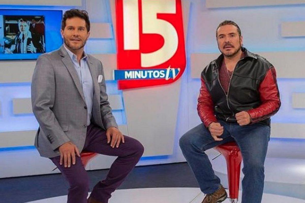 El actor, actualmente, es presentador de diversos espacios de televisión como '15 Minutos' y 'Bravíssimo'. Foto:https://www.instagram.com/marcelocezan/
