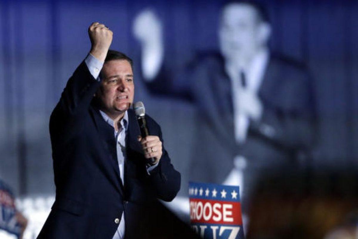 Seguido de Ted Cruz Foto:AP