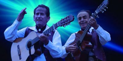 """Concierto para las madres con el dueto """"Los Visconti"""" en Plaza Mayor. Foto:Tomada de losvisconti.com"""