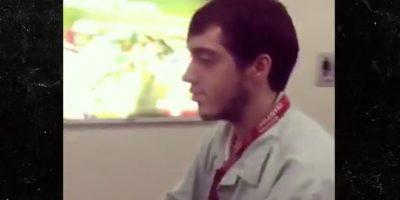 Andrew Farrell de 19 años Foto:Vía Youtube