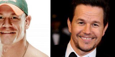 John Cena y Mark Wahlberg Foto:Twitter