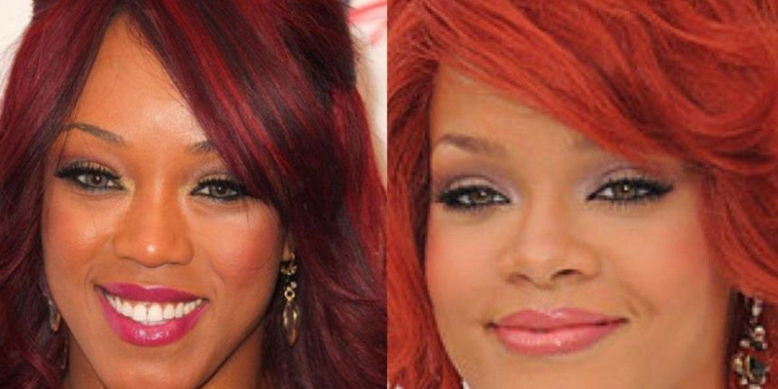 Alicia Fox y Rihanna Foto:WWE /Getty Images