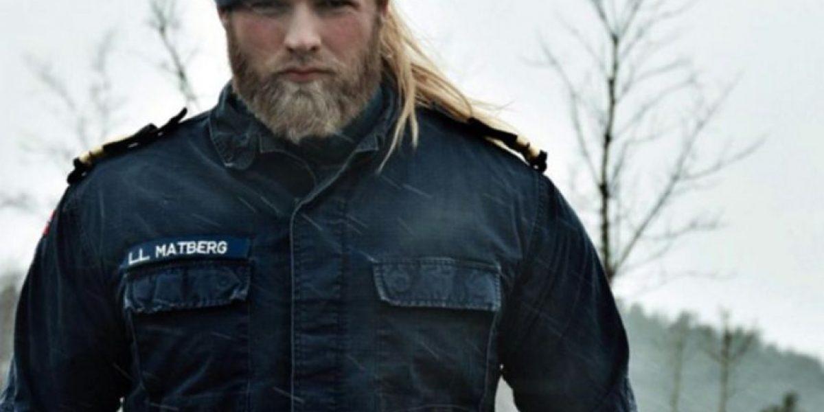 Este teniente noruego es