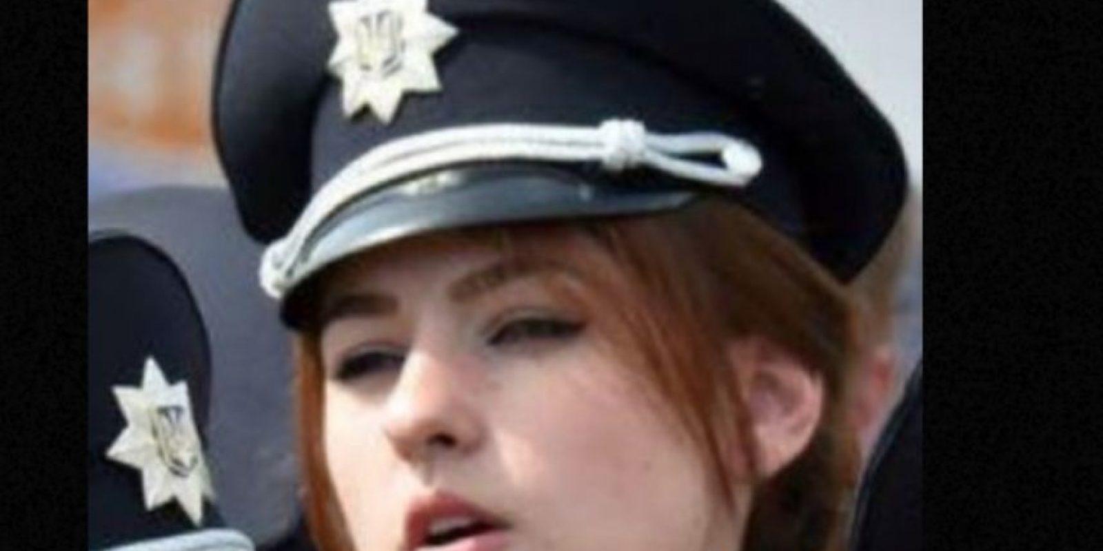 Los policías ultraguapos de Ucrania. Foto:vía Instagram