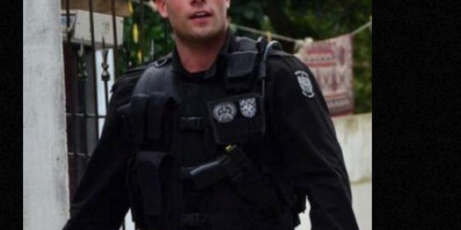 Es un apuesto teniente del Batallón de Operaciones Especiales en Brasil. Foto:vía Instagram