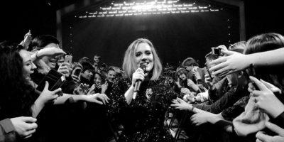 En el año 2012, Adele se convirtió en la única artista de toda la historia de Billboard en tener tres singles dentro del top 10 al mismo tiempo. Foto:Vía instagram.com/adele/