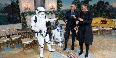 La Casa Blanca tuvo el detalle de publicar el video en el que bailan con distintos personajes. Foto:whitehouse.gov