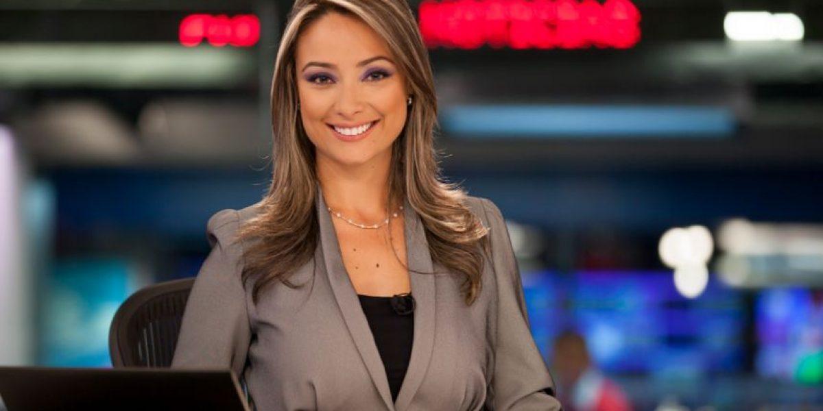 La presentadora Mónica Jaramillo dio a luz a su primer hijo