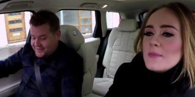 Adele Foto:Vía Youtube/LateLateShow