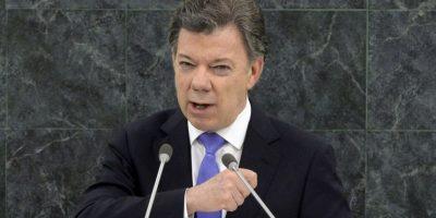 Juan Manuel Santos, presidente de Colombia. Foto:Getty Images. Imagen Por: EFE