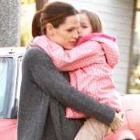 Jennifer Garner y Violet Affleck Foto: Grosby Group
