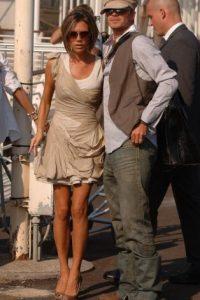 Los Beckham como nuevos ricos. Siguen siendo sexis, pero ahora tienen estilo. Foto:vía Getty Images