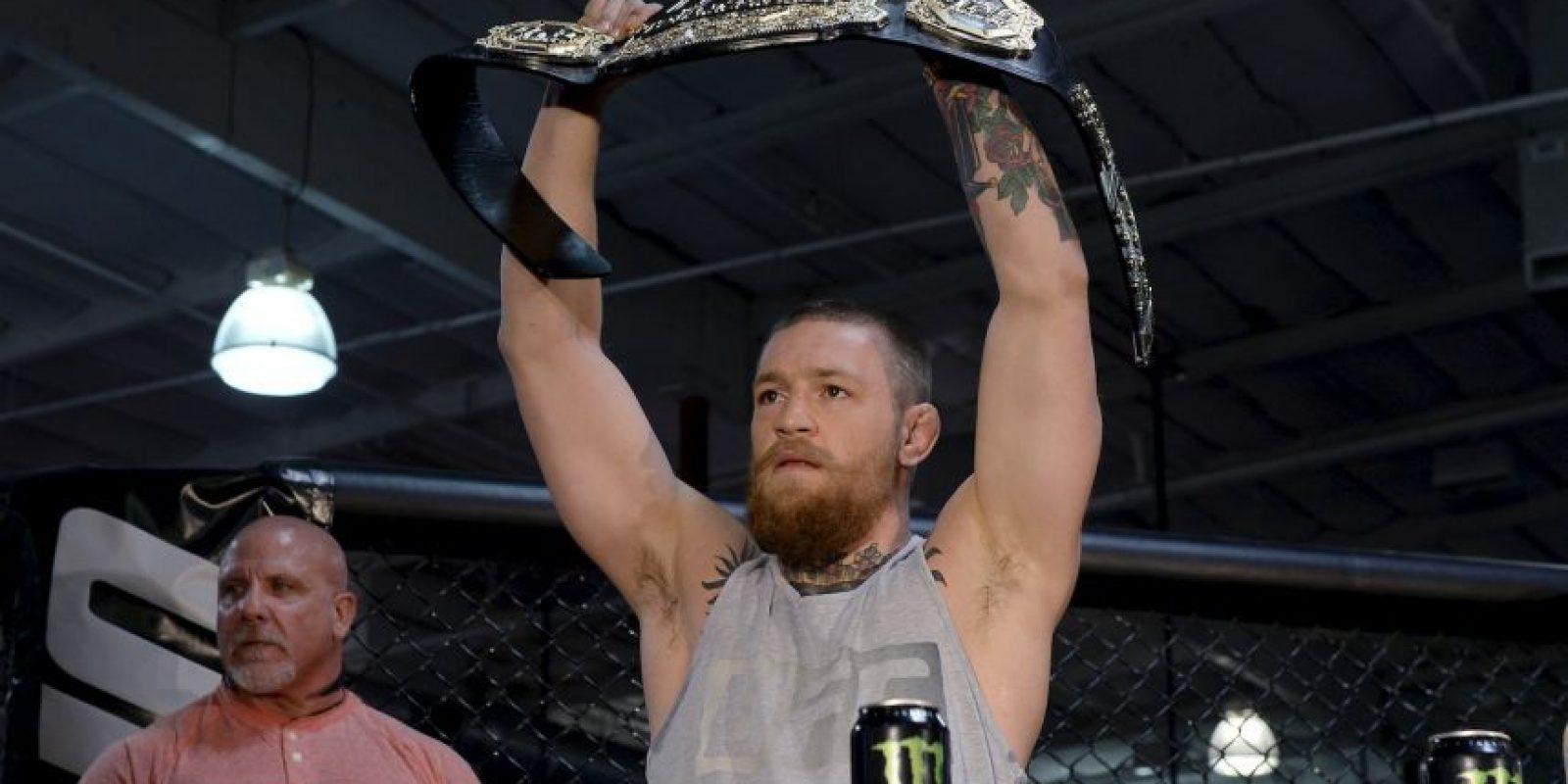 Ante un peleador que revolucionó las artes marciales mixtas en la UFC Foto:Getty Images