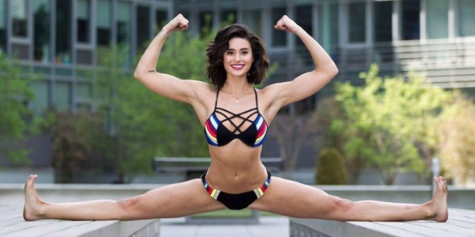 Es actriz y practica Karate Foto:Vía Facebook.com/iambiancabrigittevandamme25