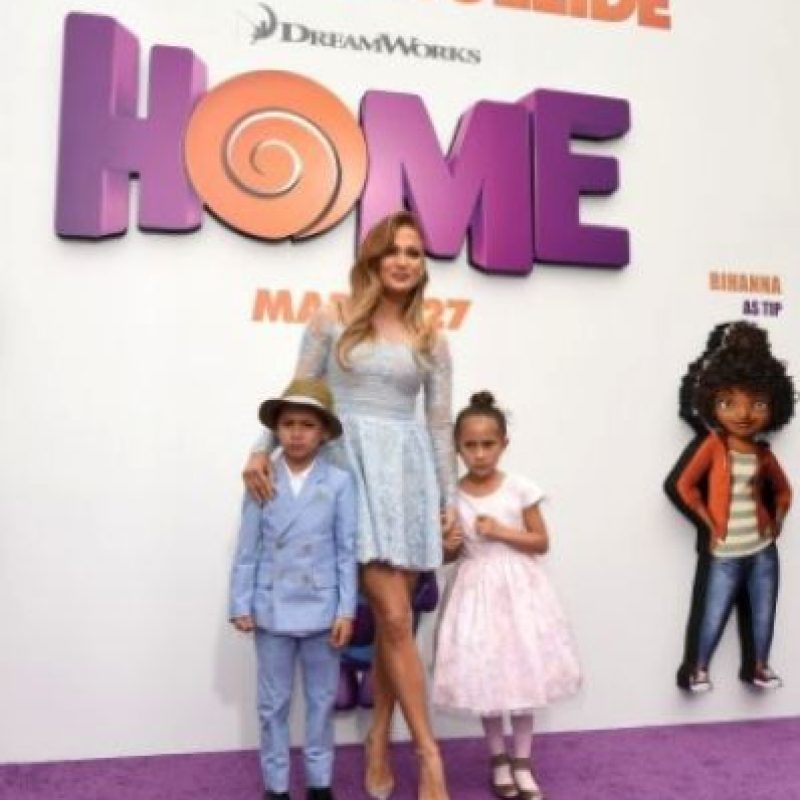 Hijos de Marc Anthony Foto:Getty Images