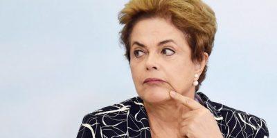 La presidenta asegura es víctima de un golpe de Estado Foto:AFP