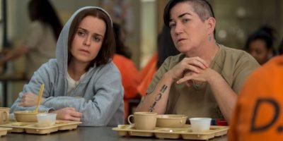 """Prisioneras como """"Red"""" (Kate Mulgrew), """"Crazy Eyes"""" (Uzo Aduba) y """"Pennsatucky"""" (Taryn Manning) existieron en prisiones estadounidenses Foto:vía facebook.com/orangeisthenewblack"""