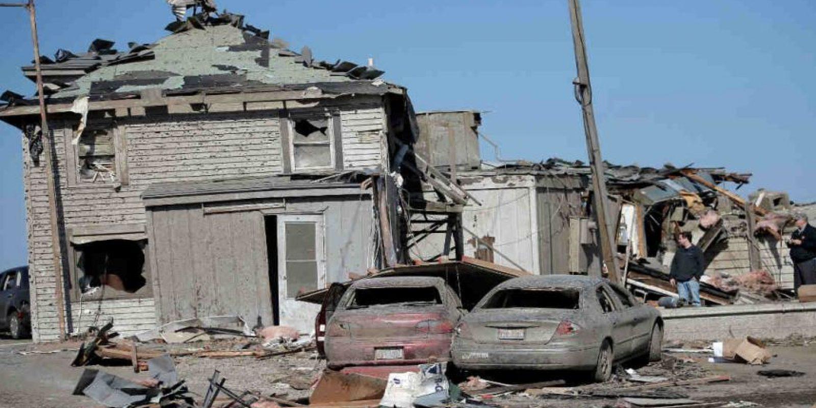Y millones de dólares en pérdidas materiales. Foto:Getty Images