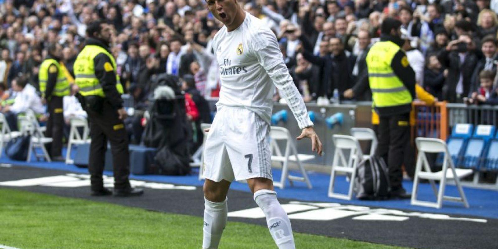 """""""CR7"""" necesita cuatro goles ante Deportivo La Coruña para igualar a """"Luisito"""" Foto:Getty Images"""