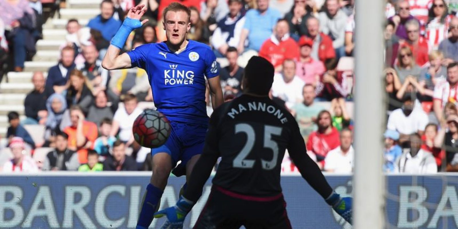 Además, aseguró que continuará en Leicester Foto:Getty Images