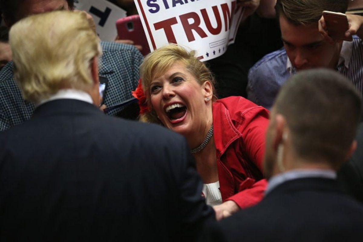 ¿Quiénes apoyan públicamente la campaña presidencial de Trump? Foto:Getty Images