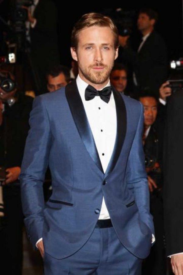 """""""Sé que estoy con la persona con la que se supone tengo que estar"""", aseguró Gosling en diciembre de 2015 a la revista """"Hello"""" Foto:Getty Images"""
