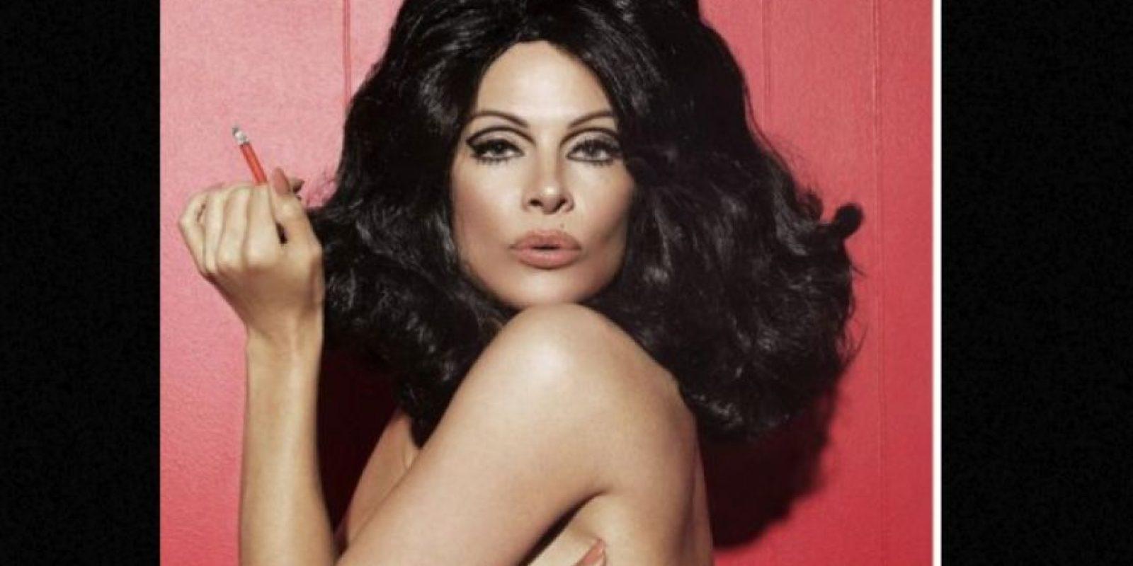 Y ella sigue posando para Playboy. Foto:vía Getty Images