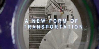 """""""Una nueva forma de transporte"""" Foto:Hyperloop"""