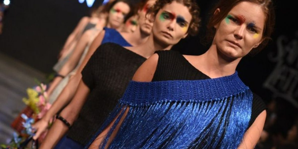 Diosas de la Plaza, la colección colombiana que brilló en el Dragão Fashion Brasil