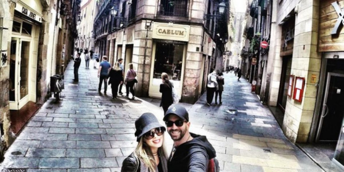 Lucas Arnau dice que su inspiración es su nueva novia, Catalina Pérez
