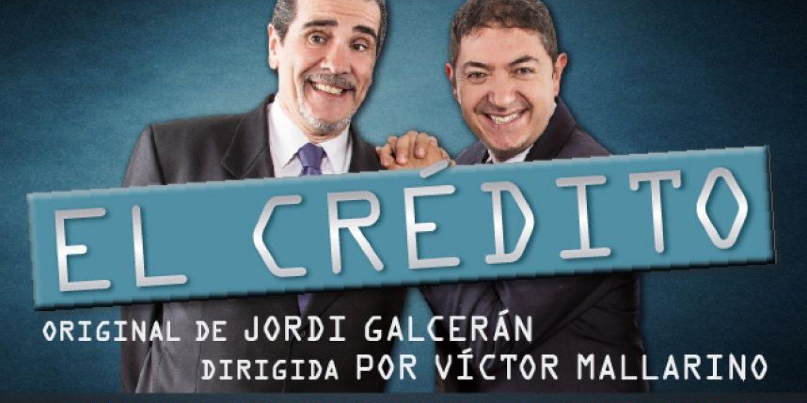 La comedia 'El Crédito', bajo la dirección de Víctor Mallarino y con la actuación de Manuel Navarro y Ernesto Benjumea, llega a Medellín. Foto:Tomada de El teatrico.co