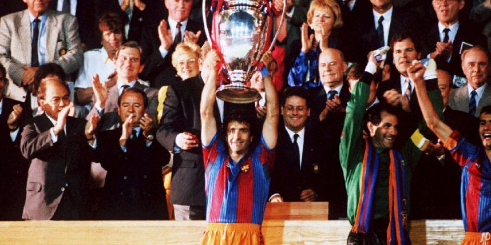 Es parecido al que portaron en 1992, cuando ganaron su primera Copa de Campeones de la UEFA Foto:Getty Images