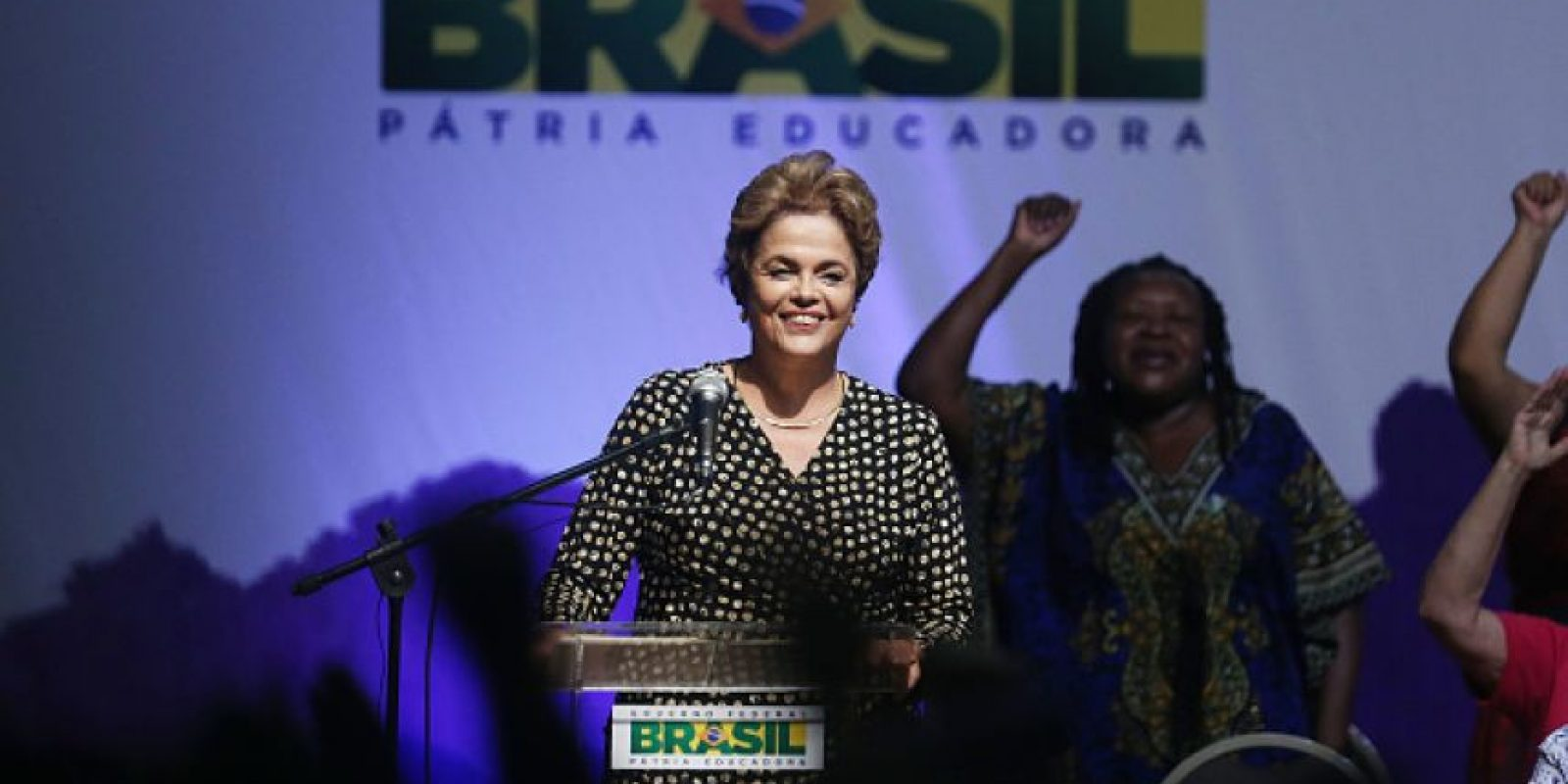 Se vota en el Senado el juicio político a Dilma Rousseff Foto:Getty Images
