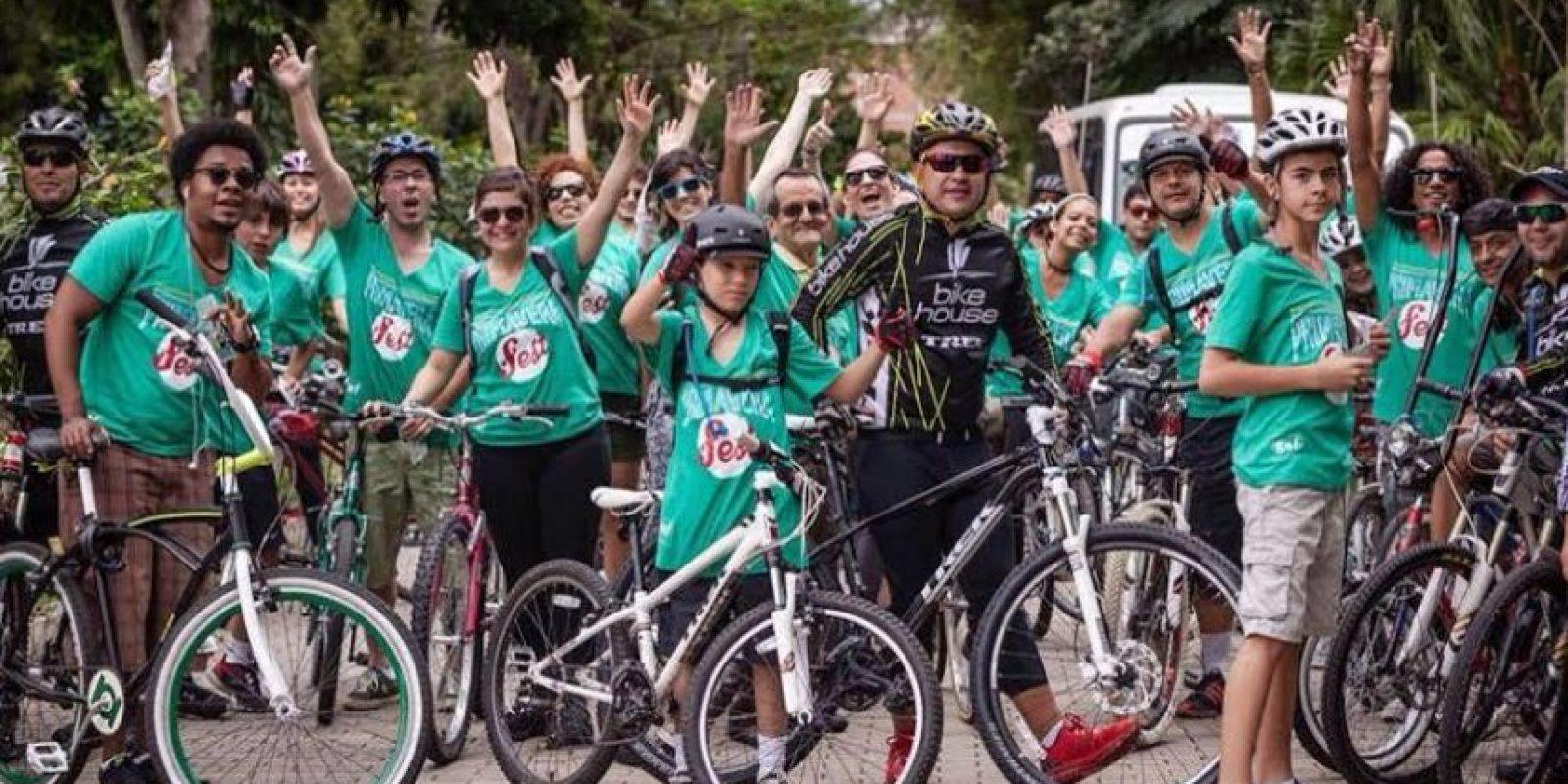 Primavera Fest, un festival en el que podrá encontrar propuestas sostenibles y amigables con el medio ambiente, los participantes son invitados a llegar en bicicletas. Foto:Corterías Primavera Fest 2016.