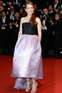 Julianne Moore alguna vez en Cannes. Foto:vía Getty Images