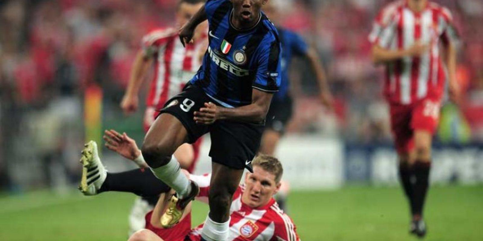 2010: Inter de Milán vs. Bayern Munich Foto:Getty Images