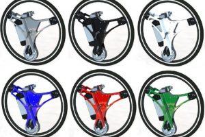 La rueda está disponible en diferentes colores Foto:GeoOrbital