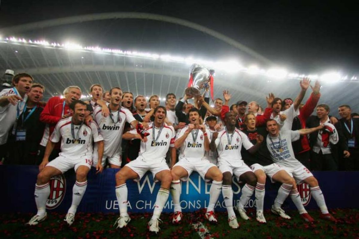 Campeón: AC Milán Foto:Getty Images