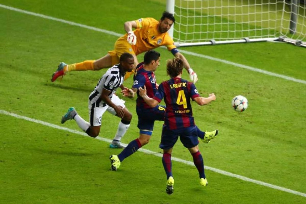 2015: Barcelona vs. Juventus Foto:Getty Images