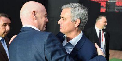 Como el nuevo presidente de la FIFA, Gianni Infatino. Foto:Getty Images