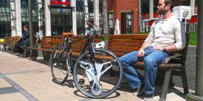 Es compatible con las bicicletas de entre 26 y 29 pulgadas Foto:GeoOrbital