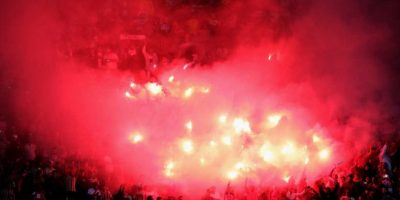 Una tragedia ocurrió durante un duelo de cuartos de final de la Copa Libertadores. Foto:Getty Images